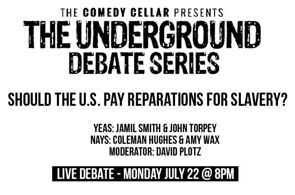 Live Debate - Monday July 22, 2019 at 8pm